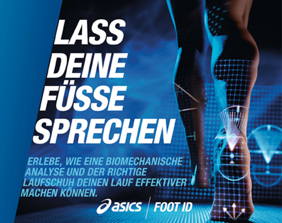 Asics Foot Id
